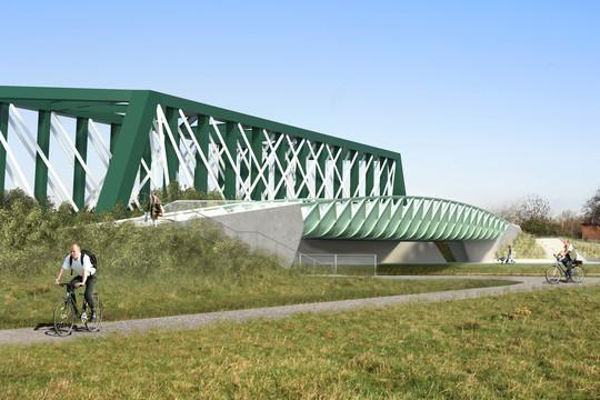 Abbey Chesterton Bridge artist impression