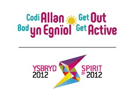 Get out Get active logo
