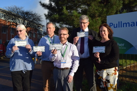 Experts by experience and 2gether Trust colleagues at Letter of Hope launch