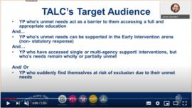 TALC target audience