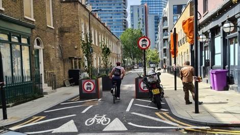 Hoxton WEst low traffic neighbourhood