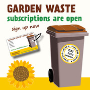 Garden waste graphic