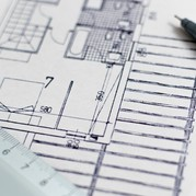 Picture of architect's plan