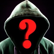 Picture of someone in hoodie with no face