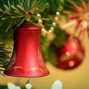 Picture of Christmas decorations
