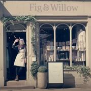 Picture of woman in doorway of shop