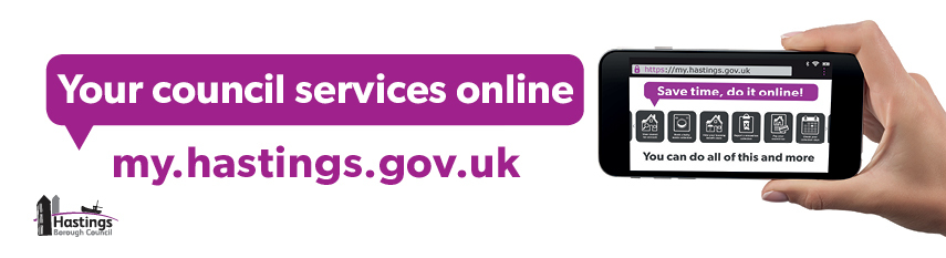 Your council services online my.hastings.gov.uk