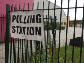 poll station