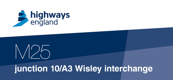 M25 junction 10/A3 Wisley Interchange