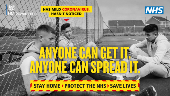 Anyone can get it coronavirus