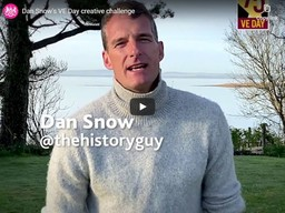 VE Day Dan Snow
