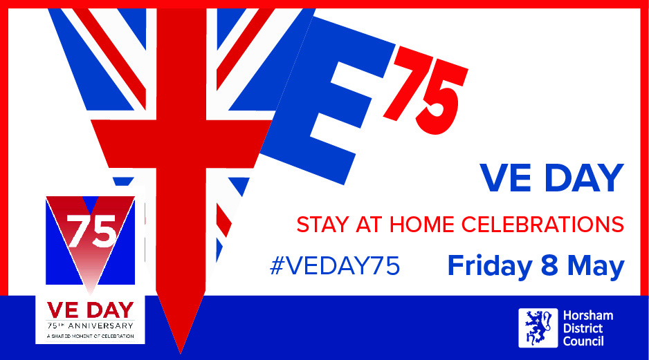 VE Day header