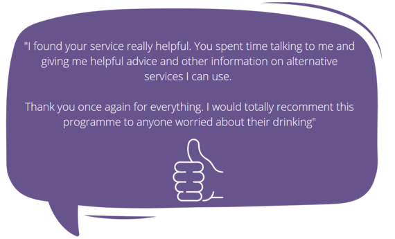 Alcohol Service Feedback comment 3