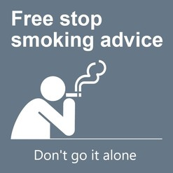 Smoking - don't go it alone