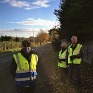 Community speedwatch with neighbourhood wardens