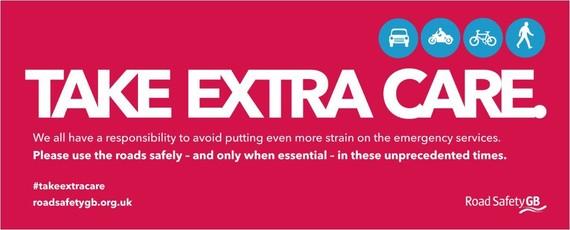 Take extra care
