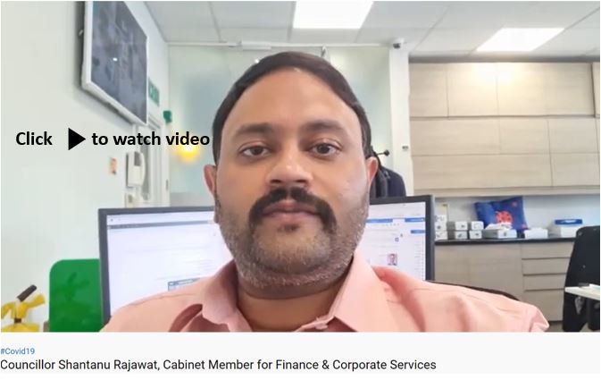 Cllr Rajawat video