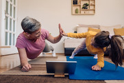 home online exercise classes