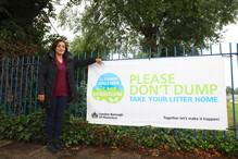 Don't drop your litter bin it