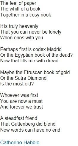 catherine habbie poetry entry