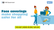 Face covering make shopping safe
