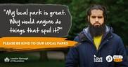 Love Parks litter campaign