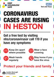 Heston Covid cases
