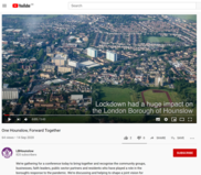 One Hounslow Forward together video
