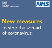 New measures to stop the spread of covid