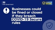 Business secure covid