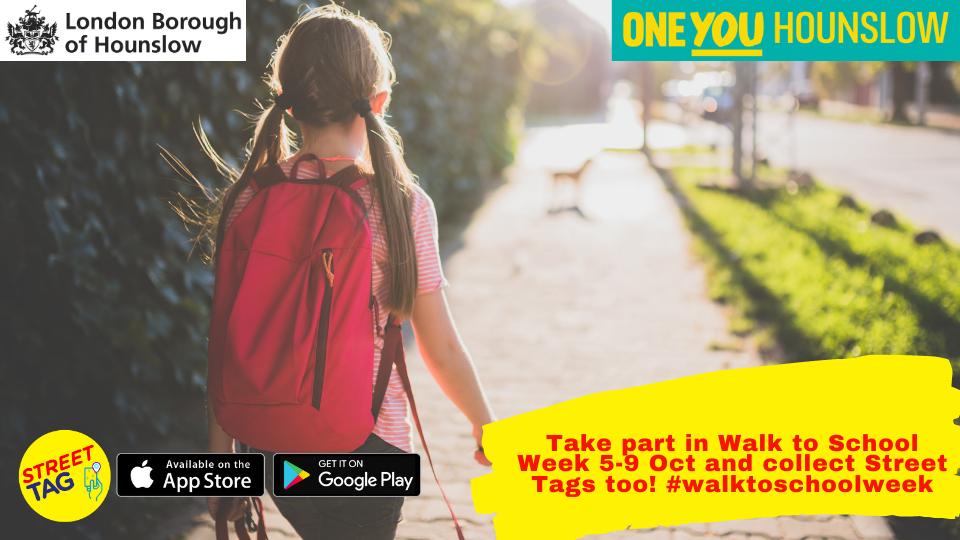 Street tag walk to school week
