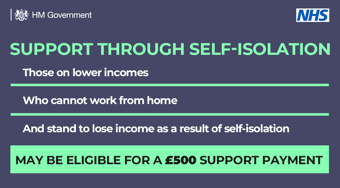 Self isolation support