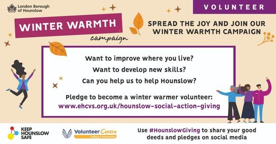 Winter warmth campaign