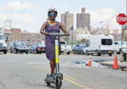 E-scooter trial