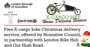 Christmas Cargo bike delivery