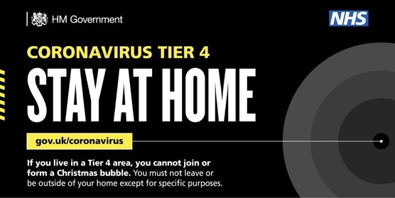 Tier 4 Stay At Home