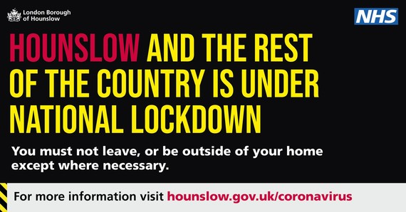 Hounslow and the rest of the UK is under national lockdown