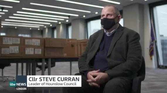Cllr Curran ITV report