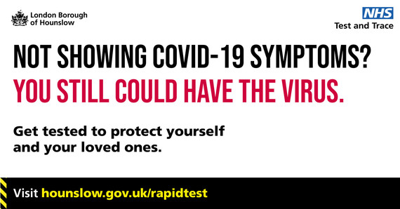 Not showing COVID-19 symptoms? You could still have the virus