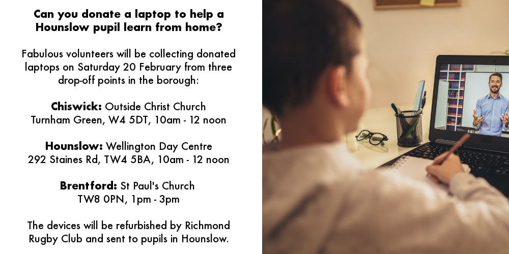 Laptop donations