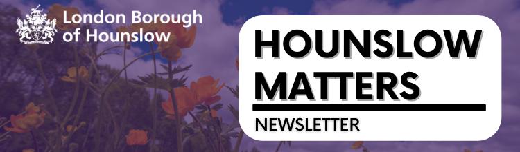 Hounslow Matters spring banner