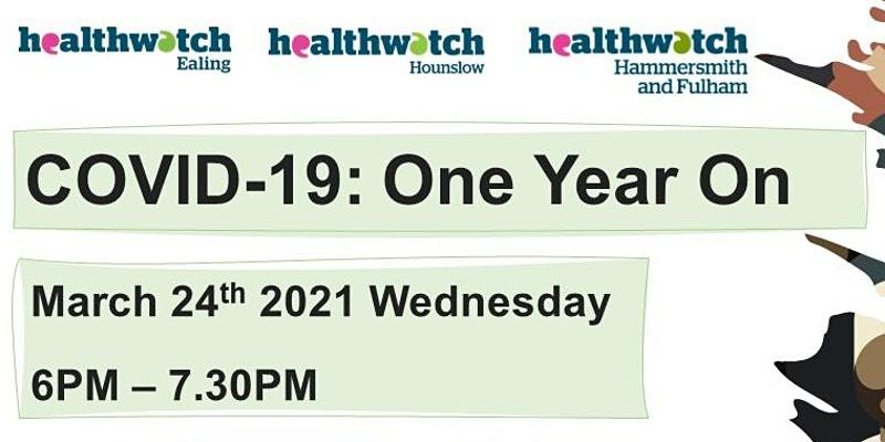 Covid-19 Hounslow Healthwatch webinar