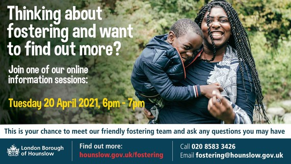 Thinking about fostering online information workshops 20 April 2021 6pm to 7pm