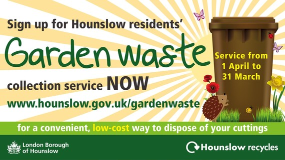 Hounslow Council Garden Waste service 1 April 2021 to 28 March 2022