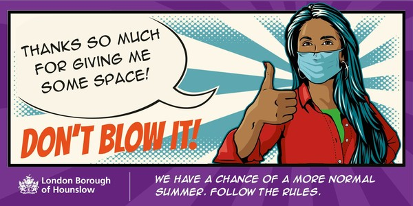 Don't blow it! We have a chance of a more normal summer. Follow the rules.