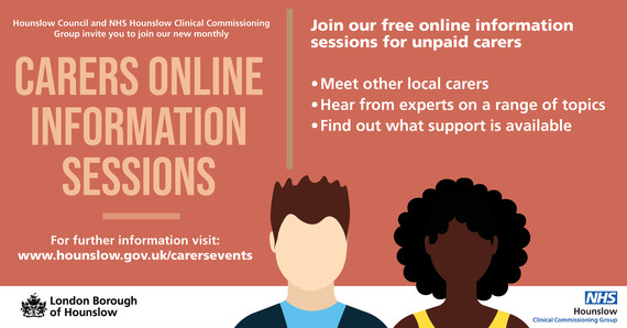 Join our free online information sessions for unpaid carers