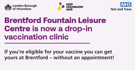 Brentford Fountain drop-in clinic