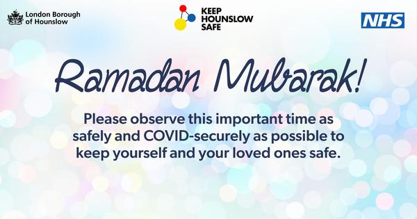 Celebrating Ramadan safely