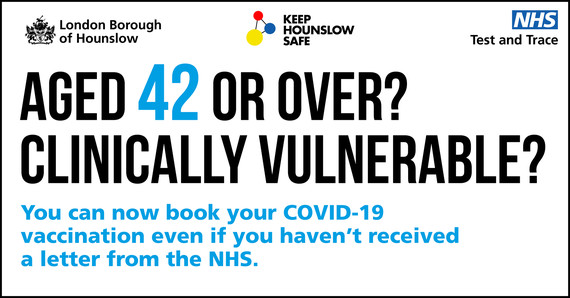 COVID-19 vaccine for aged 42 or over