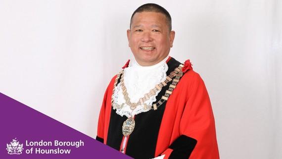 New Mayor of Hounslow, Cllr Bishnu Gurung